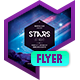 Club Flyer: Stars at Night - GraphicRiver Item for Sale