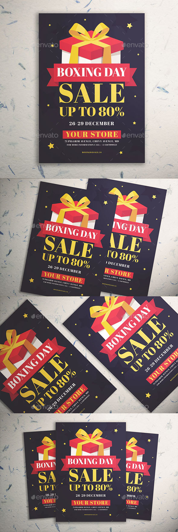 GraphicRiver Boxing Day Sale Flyer Vol 02 21049392