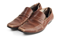 Old Brown Leather Shoes - PhotoDune Item for Sale