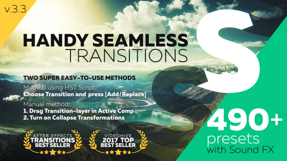 Handy Seamless Transitions | Pack & Script (bao xài)