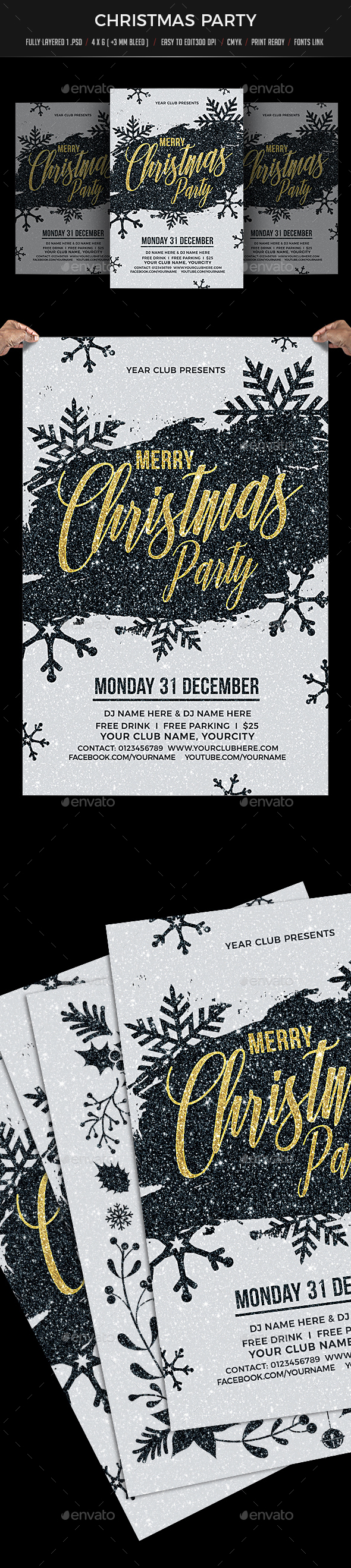 GraphicRiver Christmas Party 21049483