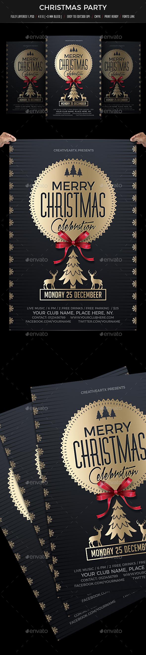 Christmas Celebration - Holidays Events