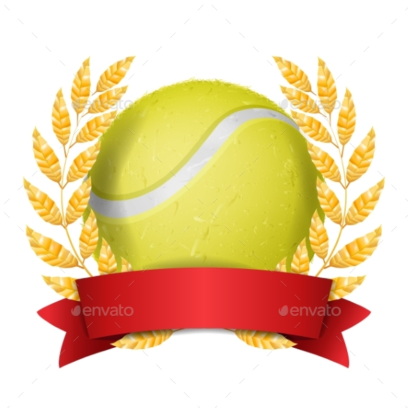 GraphicRiver Tennis Award Vector Sport Banner Background 21049605