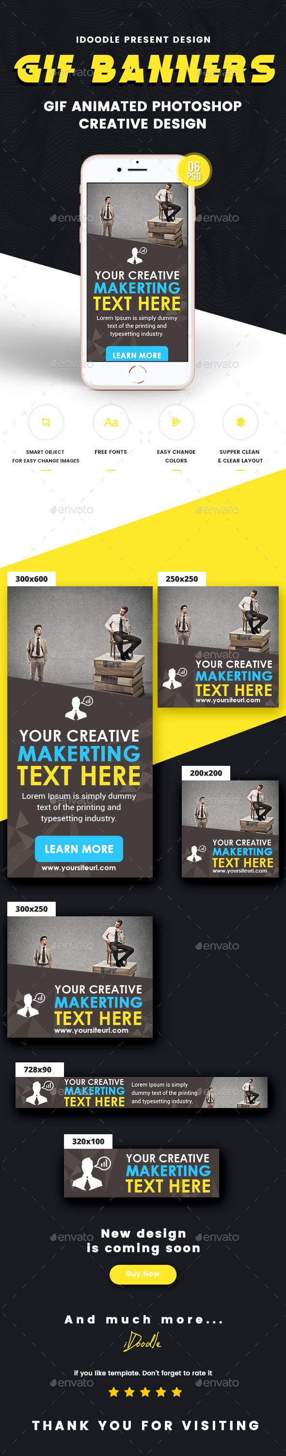GraphicRiver Animated multipurpose Banner Ad 21049634