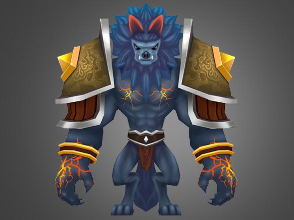 werwolf - 3DOcean Item for Sale