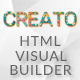 Creato - HTML Page Builder - CodeCanyon Item for Sale