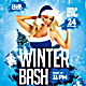 Winter Flyer Template - GraphicRiver Item for Sale