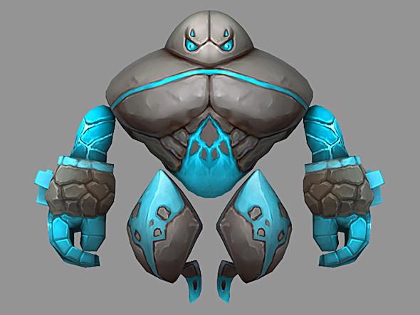 Elemental Monster - 3DOcean Item for Sale