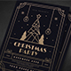 Christmas Gold Deco Event Flyer - GraphicRiver Item for Sale