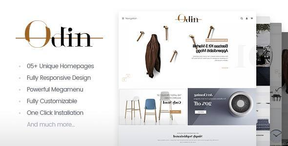 ThemeForest Odin Furniture WordPress Theme 21050194