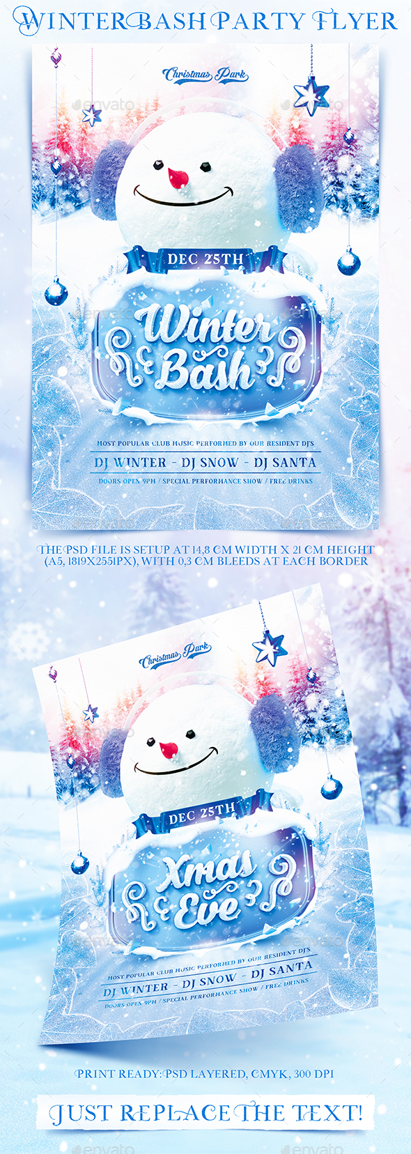 Winter Bash Party Flyer - Holidays Events