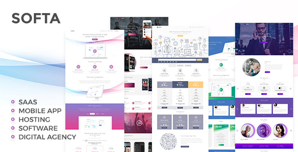 Image of Softa | SaaS, Software & WebApp WordPress Theme