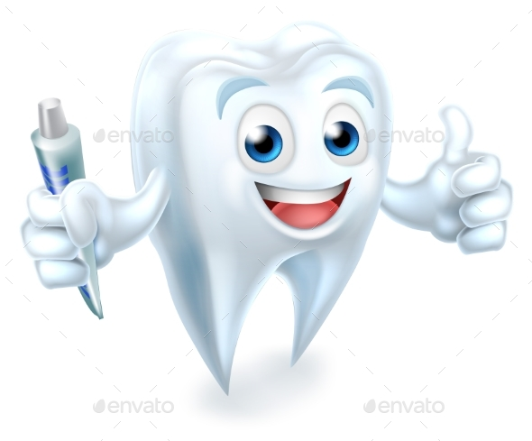 GraphicRiver Dental Tooth Mascot 21050445