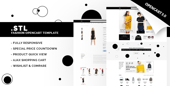 STL - Responsive Fashion Opencart Theme 3.0.2 - Fashion OpenCart