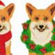 Corgi Xmas Set - GraphicRiver Item for Sale