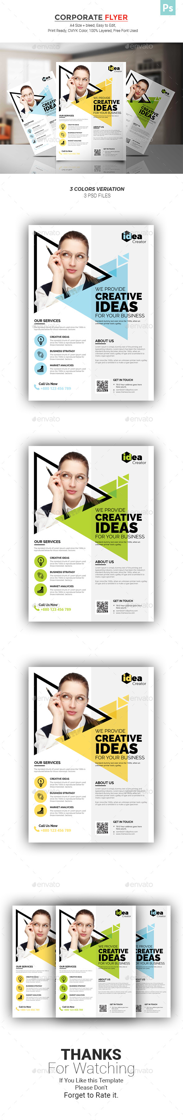 GraphicRiver Corporate Flyer 21050534