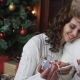 Young Couple Smiling, Happy, Christmas Decoration - VideoHive Item for Sale