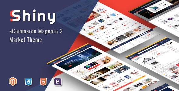 Shiny - Responsive Magento 2 Fashion Store Theme - Shopping Magento
