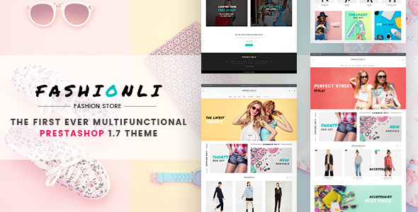Fashionli - Fashion Store PrestaShop 1.7 Theme - Fashion PrestaShop