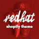 Redhat - Urban Clothing Shopify Theme - ThemeForest Item for Sale