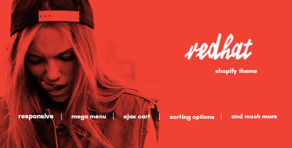 Redhat - Urban Clothing Shopify Theme