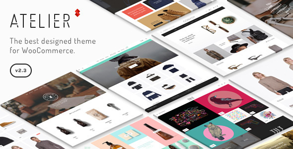 Image of Atelier - Creative Multi-Purpose eCommerce Theme