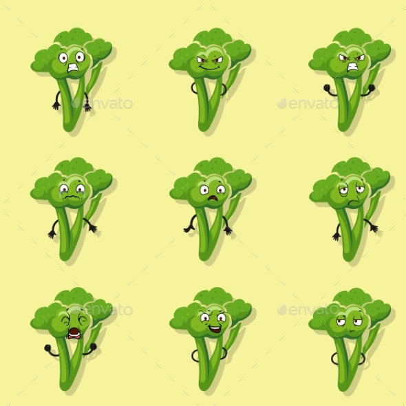GraphicRiver Broccoli Negative Emotions 21051361