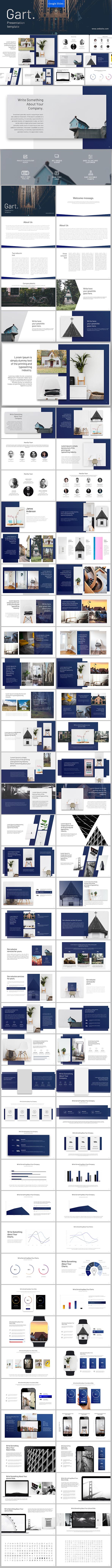 Gart Google Slides - Google Slides Presentation Templates