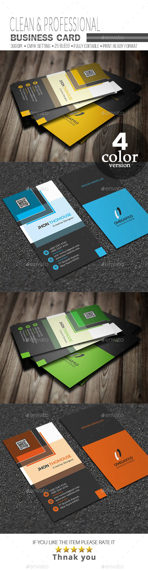 GraphicRiver Business Card 21051491