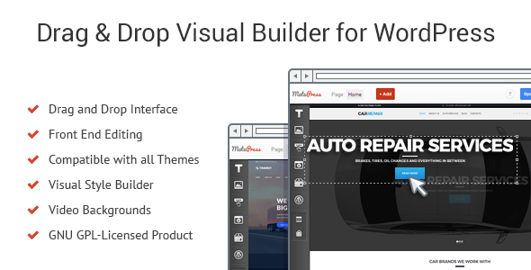 MotoPress Content Editor - Visual Builder for WordPress - CodeCanyon Item for Sale