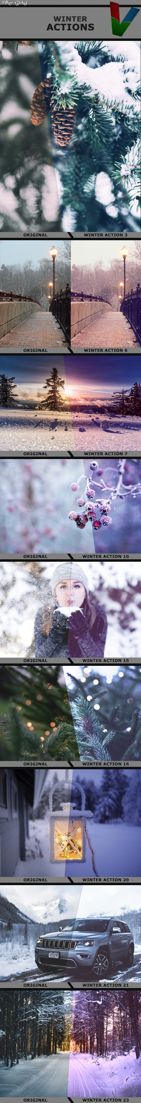 GraphicRiver Winter Actions 21051603