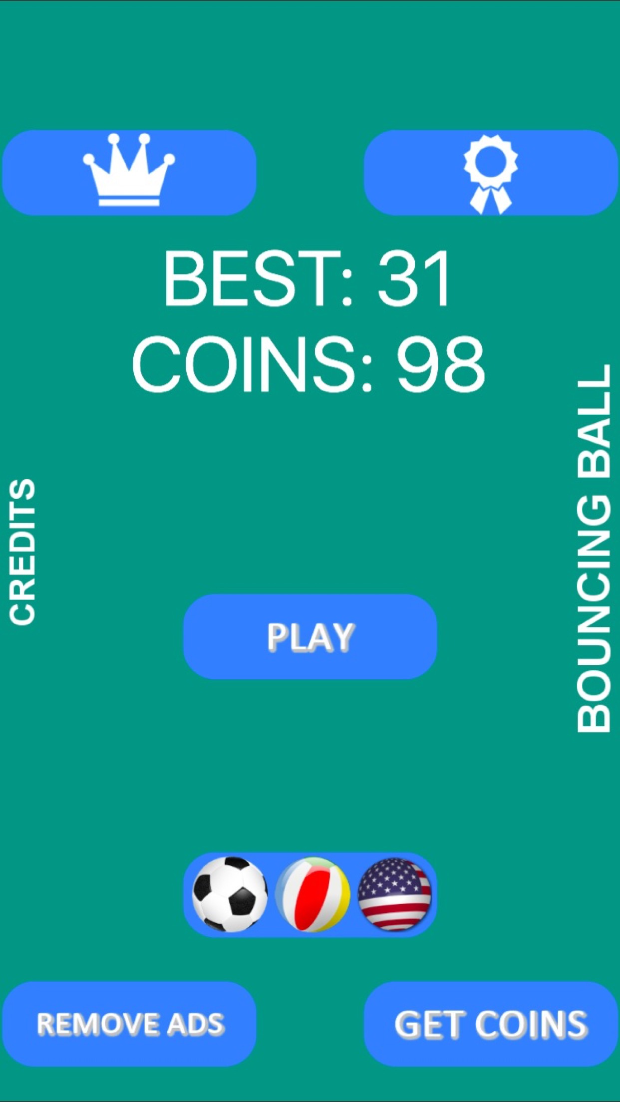 Bouncing Ball Android & iOS universal! Ads & IAP included!