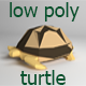 Low Poly Turtle - 3DOcean Item for Sale