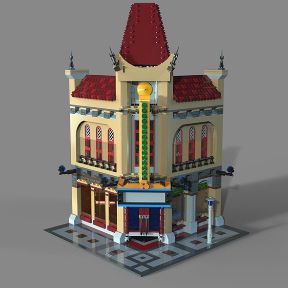 Lego cinema - 3DOcean Item for Sale