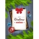 Winter Holidays Background Merry Christmas