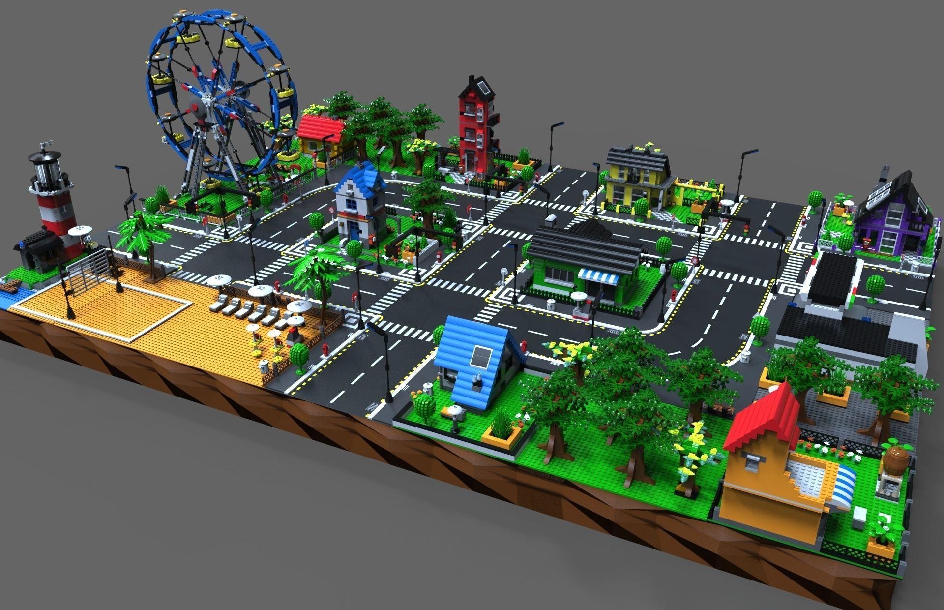 Lego City game by Vladim00719 | 3DOcean