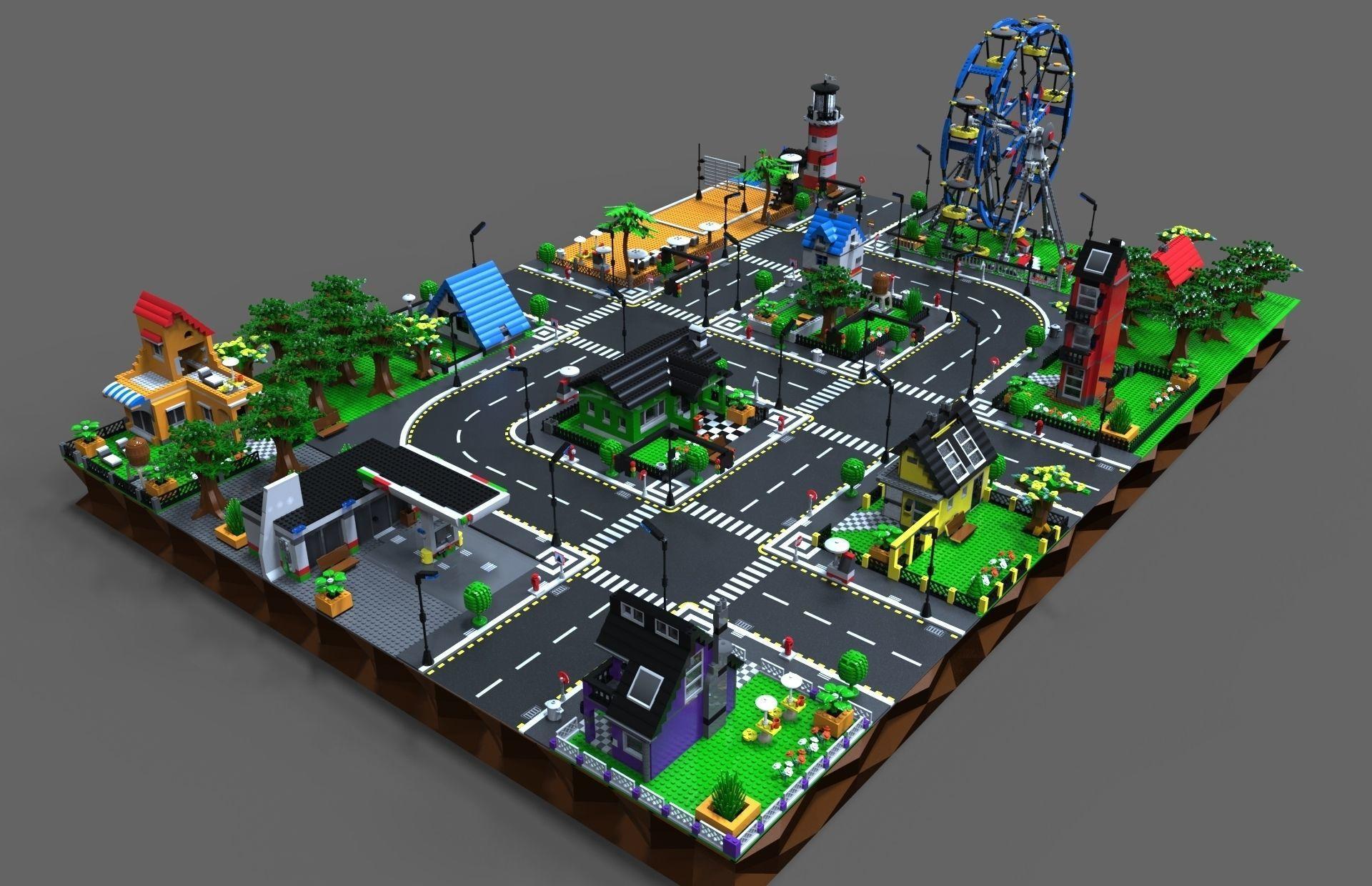 Lego City game by Vladim00719   3DOcean