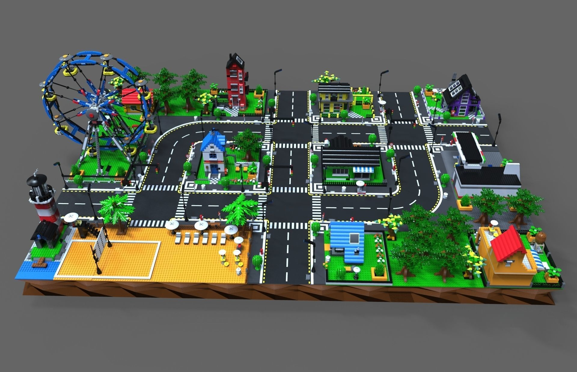 Lego City Game By Vladim00719 3docean