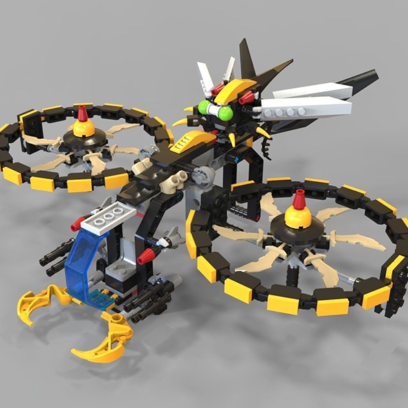3DOcean Lego Copter game 21051802
