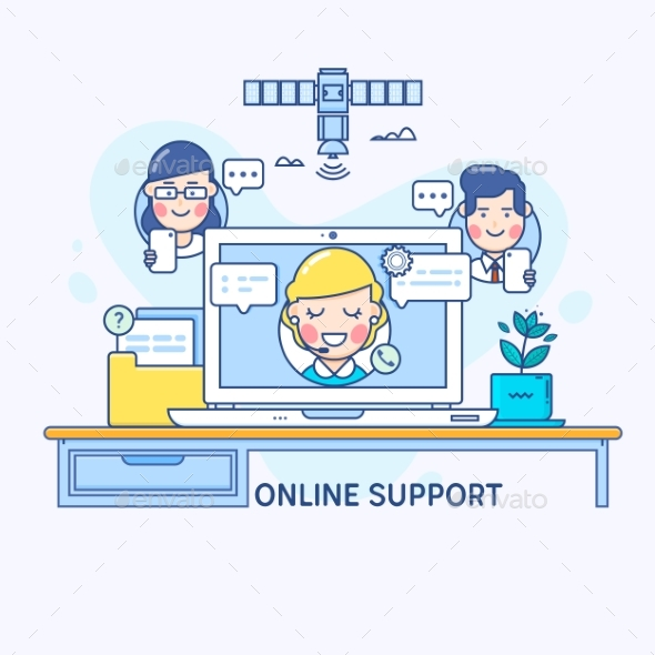Support and Online Consultant Manager - Computers Technology