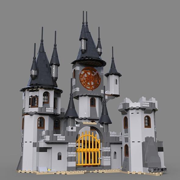 Lego fantastic castle - 3DOcean Item for Sale