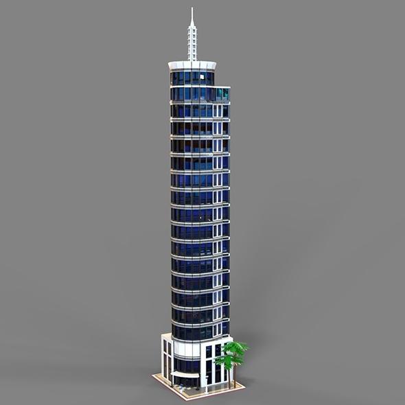 Lego hotel - 3DOcean Item for Sale