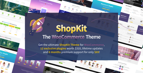 Image of ShopKit - The WooCommerce Theme
