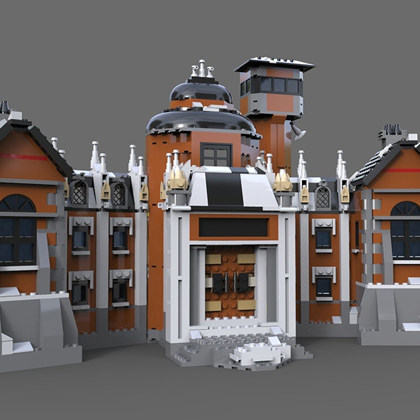 3DOcean Lego house estate 21052146