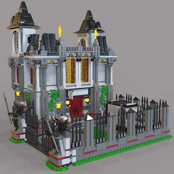 Lego jail - 3DOcean Item for Sale