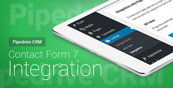 CodeCanyon Contact Form 7 Pipedrive CRM Integration 21052205