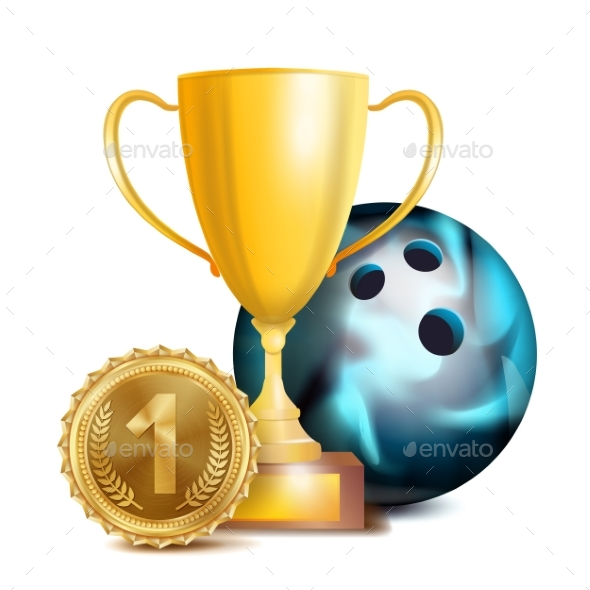 GraphicRiver Bowling Award Vector 21052287
