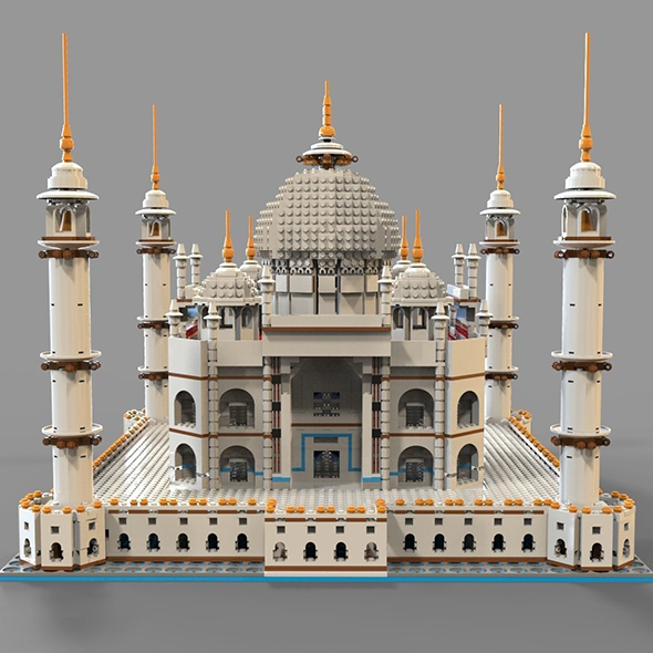 Lego mosque - 3DOcean Item for Sale