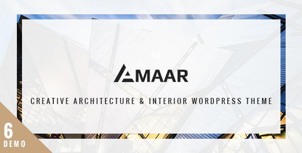 Amaar - Creative Architecture & Interior WordPress Theme