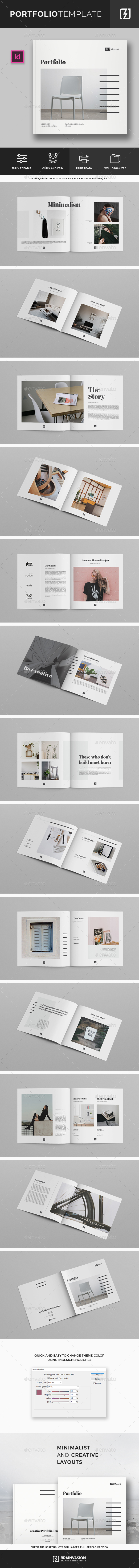 GraphicRiver Square Portfolio Template 21052475
